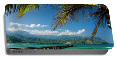 Hanalei Pier And Beach Portable Battery Charger
