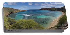 Hanauma Bay Panorama Portable Battery Charger
