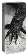 Hand Of A Marine Iguana Portable Battery Charger