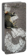 Handicat Parking Portable Battery Charger by Barbie Corbett-Newmin