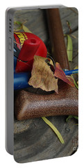 Portable Battery Charger featuring the photograph Handled With Care by Peter Piatt