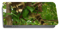 Portable Battery Charger featuring the photograph Hang In There by James Peterson