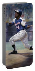 Hank Aaron Portable Battery Charger