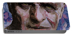 Portable Battery Charger featuring the painting Hannibal by Laur Iduc