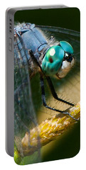 Happy Blue Dragonfly Portable Battery Charger