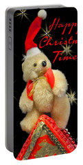 Happy Christmas Portable Battery Charger