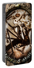 Happy Halloween IIi Sepia Version Portable Battery Charger