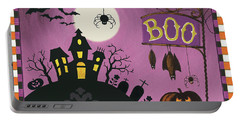 Happy Haunting Boo Portable Battery Charger