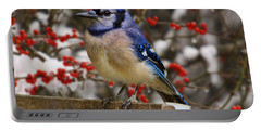 Portable Battery Charger featuring the photograph Happy Holidays by Gary Holmes