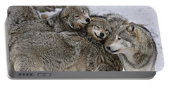 Happy Wolf Pack Portable Battery Charger