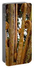 Hapu'u Fern Fronds Portable Battery Charger by Lehua Pekelo-Stearns