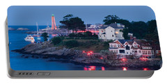 Marblehead Harbor Illumination Portable Battery Charger by Jeff Folger