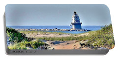 Harbor Of Refuge Lighthouse Portable Battery Charger