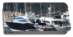 Portable Battery Charger featuring the photograph Harbour Docking Scene by Rogerio Mariani