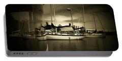 Portable Battery Charger featuring the photograph Harbour Life by Micki Findlay