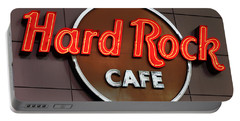 Hard Rock Cafe Sign Portable Battery Charger