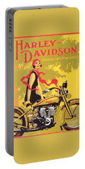 Harley Davidson 1927 Poster Portable Battery Charger