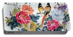 Harmony And Lasting Spring Portable Battery Charger by Yufeng Wang