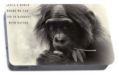 Harmony With Nature Portable Battery Charger by Dan Sproul