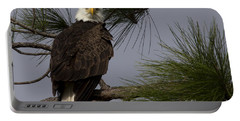 Harriet The Bald Eagle Portable Battery Charger
