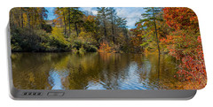 Harris Lake In Autumn Portable Battery Charger