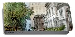 Harrison Residence East Rittenhouse Square Philadelphia C 1890 Portable Battery Charger