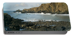 North Devon - Hartland Quay Portable Battery Charger by Richard Brookes