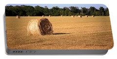 Portable Battery Charger featuring the photograph Harvest Time by Gordon Elwell