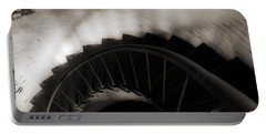 Portable Battery Charger featuring the photograph Hatteras Staircase by Angela DeFrias