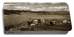 Hatton Ranch Carmel Valley From Highway One California  1940 Portable Battery Charger
