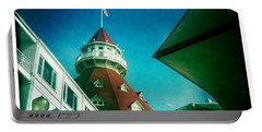 Haunted Hotel Del Portable Battery Charger