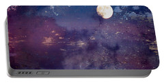 Haunted Moon Portable Battery Charger