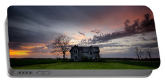 Haunted Sunset Portable Battery Charger