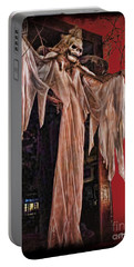 Hauntings Portable Battery Charger by Joan  Minchak