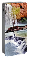 Havasau Falls Painting Portable Battery Charger