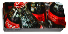 Have A Coke And Give A Smile By Diana Sainz Portable Battery Charger