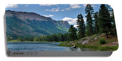 Portable Battery Charger featuring the photograph Haviland Lake by Janice Rae Pariza