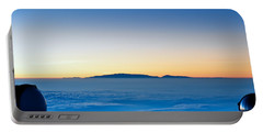 Portable Battery Charger featuring the photograph Hawaii Sunset by Jim Thompson