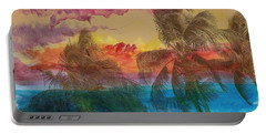Portable Battery Charger featuring the photograph Hawaiian Sunset by Athala Carole Bruckner