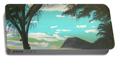 Hawaiian Sunset Portable Battery Charger by Frank Hunter