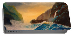 Hawaiian Turquoise Sunset   Copyright Portable Battery Charger