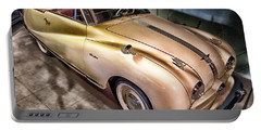 Portable Battery Charger featuring the photograph Hdr Classic Car by Paul Fearn