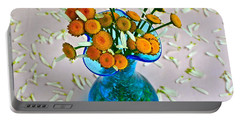 He Loves Me Bouquet Portable Battery Charger