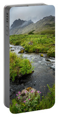 Headwaters In Summer Portable Battery Charger