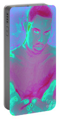 Heal My Blues Portable Battery Charger by Vannetta Ferguson
