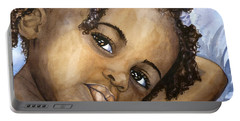 Nigerian Eyes Portable Battery Charger