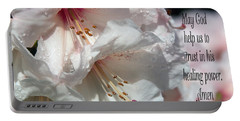 Portable Battery Charger featuring the photograph Healing Power by Jean OKeeffe Macro Abundance Art