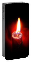 Heart Aflame Portable Battery Charger by Sennie Pierson