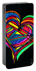 Heart Heart Heart Portable Battery Charger
