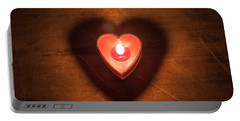 Heart Light Portable Battery Charger